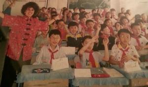 Me teaching in China