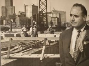 Joseph M. Vallone, Director R.I. State Dept. of Public Works, circa 1955-60