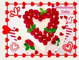 Sweetheart Fudge Cake