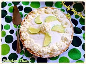 Frosty Keylime Pie