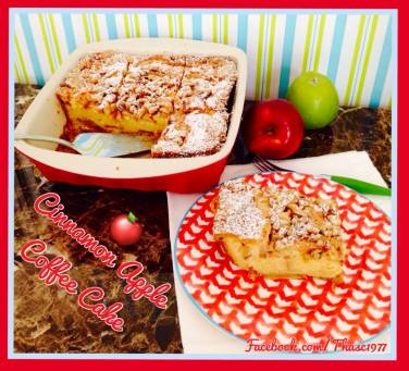Cinnamon Apple Coffee Cake