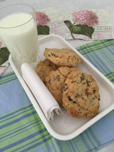 Chunky Oatmeal Raisin Cookies