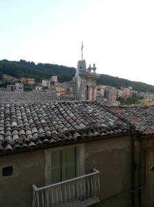 House roof in Buccheri