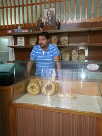 Vittorio in his bakery
