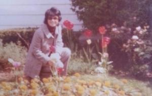 My mom Sara