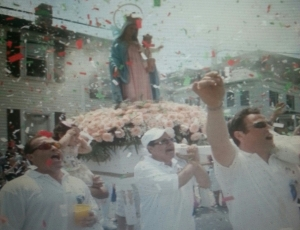 Madonna procession