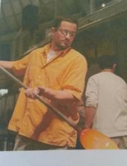 Glassmaker in Murano