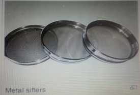 Metal sieves