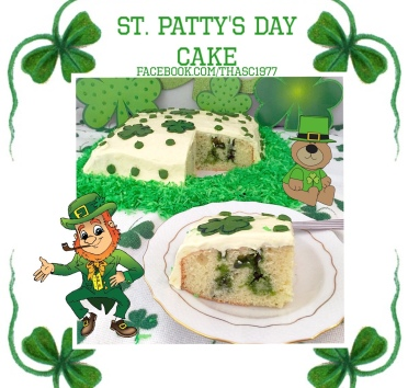 St Pattys Day Cake