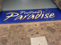 Positano Paradise entrance mat