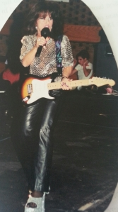Me in Rocco's Rock 'n Roll revue