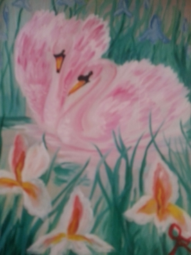 Pink Swans