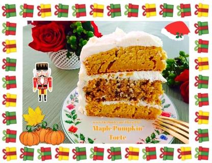 Maple Pumpkin Torte