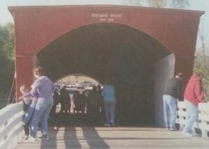 The Roseman Covered Bridge