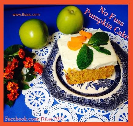 No Fuss Pumpkin Cake
