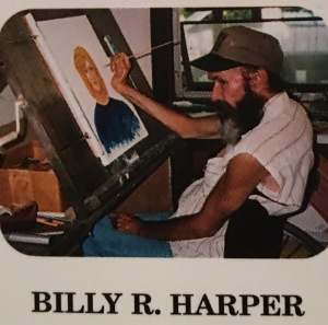 """""""WHITE TAIL"""" is an original oil painting by Billy R. Harper resident of the Yellowhammer State, Alabama. Billy is a paraplegic from a spinal injury in 1985. Billy is a self-taught artist and began by drawing animals in 1987. Billy mostly paints angels today as he feels these paintings of angels will bring peace to this earth. This greeting card was reproduced by Billy R. Harper for THASC Sales Co. of Margate, Florida. THASC has employed a unique group of handicapped artists who create art to help rehabilitate themselves. They gain self-respect and pride through their work."""