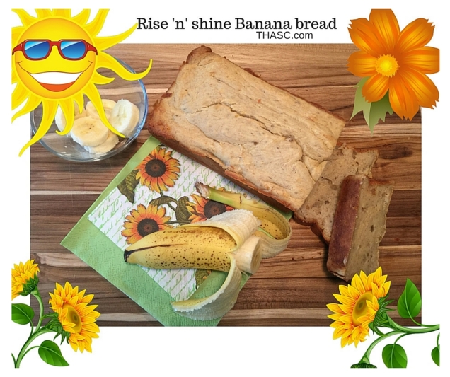 Rise n Shine Banana Bread