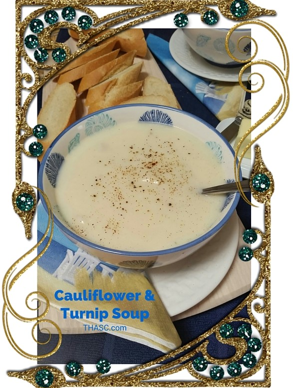 Cauliflower & Turnip Soup