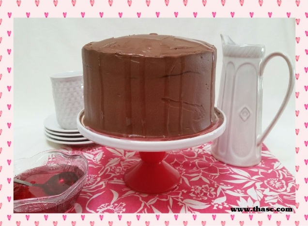 chocolate-red-wine-cake