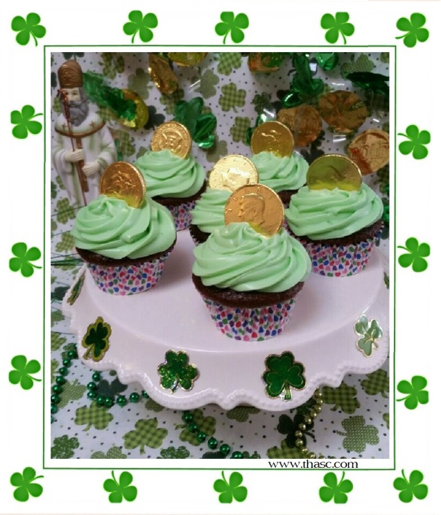 Chocolate Irish Cream Cupcakes