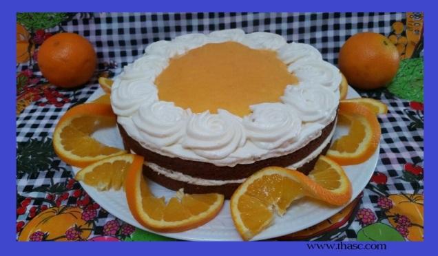 Citrus Mousse Cake