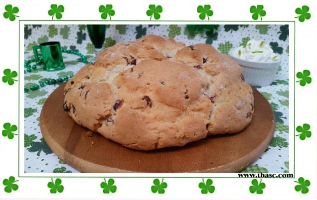 Cranberry Irish Soda Bread