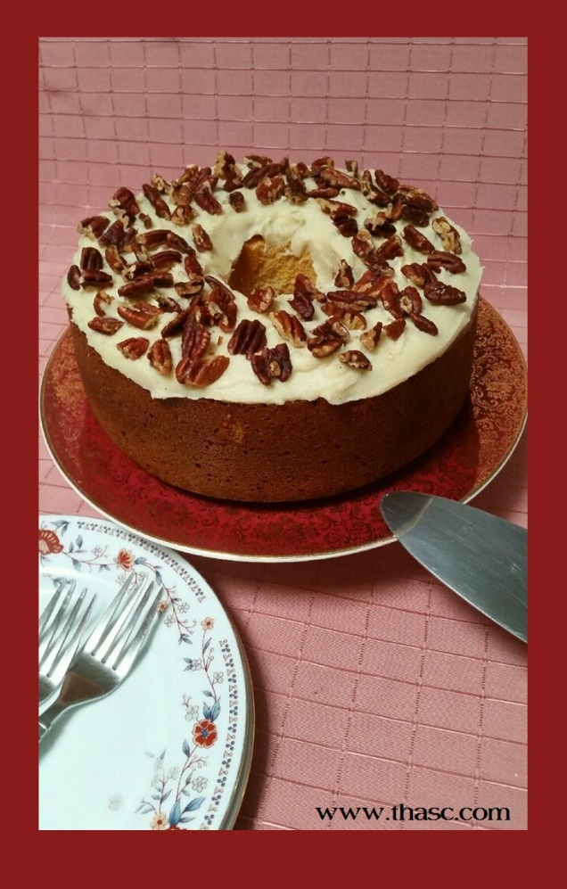 Maple Pecan Chiffron Cake with Brown Butter Icing3