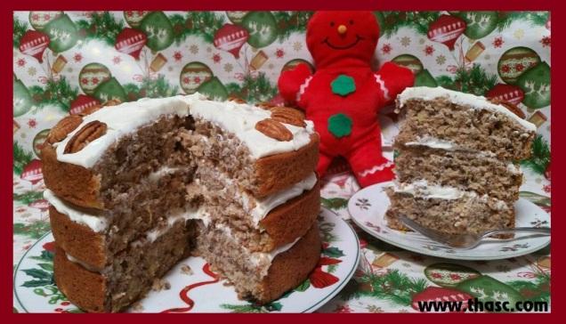 Aunt Linda's Christmas Cake