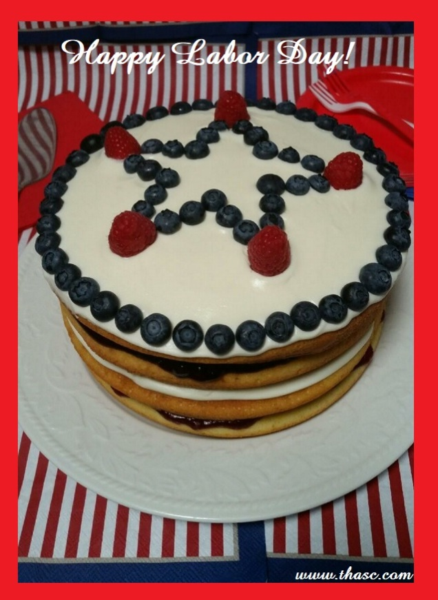 Stars And Stripes Torte