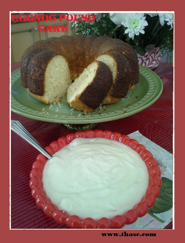 Eggnog Pound Cake2