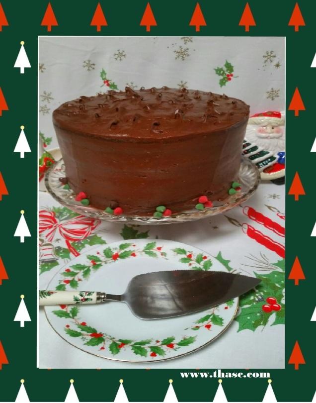 Mocha Chiffon Cake