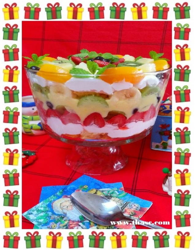 Six Fruit Trifle