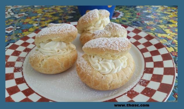 Cream Puff Pastries