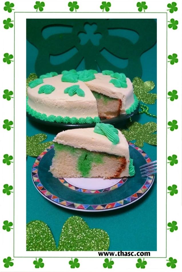 Wearing O'Green Cake2