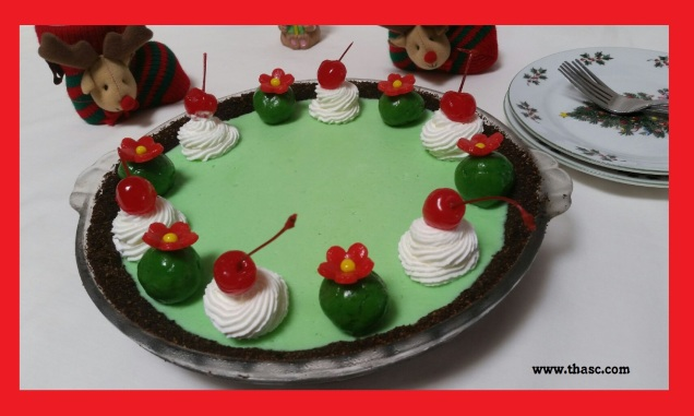 Christmas Grasshopper Pie