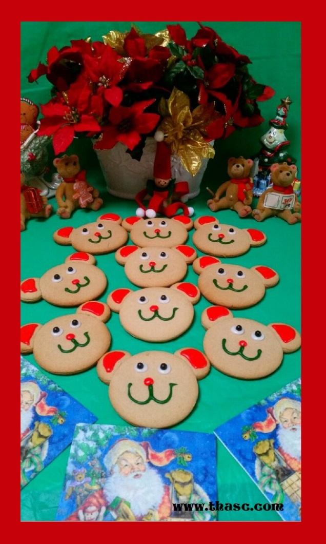 Gingerbear Cookies