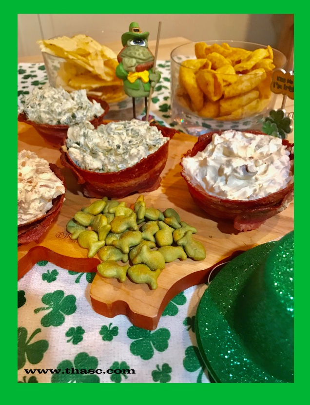 Dips For St. Paddy's Day