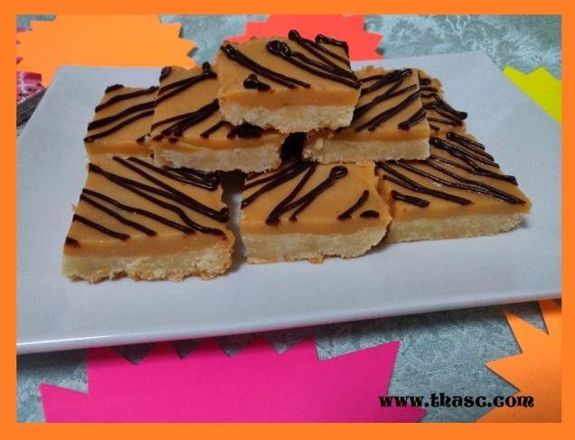 Chocolate-Caramel Shortbread